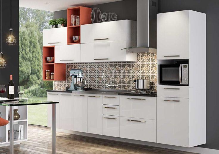 Cozinha Completa Itatiaia Dandara de Aço CZ41