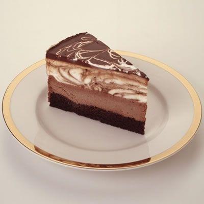 Chocolate Tuxedo Cream Cheesecake from Cheesecake Factory