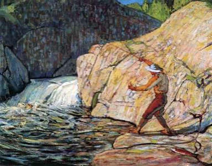 Tom Thomson The Fisherman