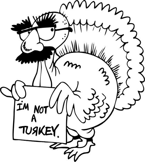 For Alex Thanksgiving Coloring Page