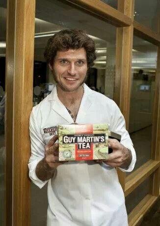 Guy Martin tea