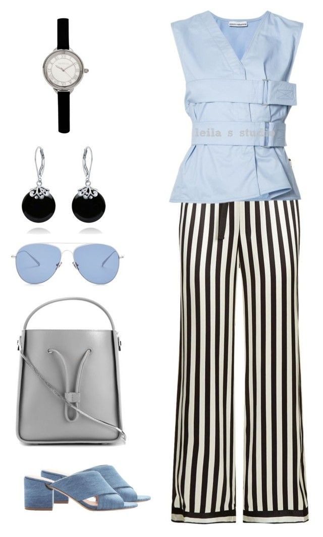 """#253"" by leila-image-style ❤ liked on Polyvore featuring Morgan Lane, Sigerson Morrison, Paco Rabanne, 3.1 Phillip Lim, Kaleos, Bertha and Bling Jewelry"