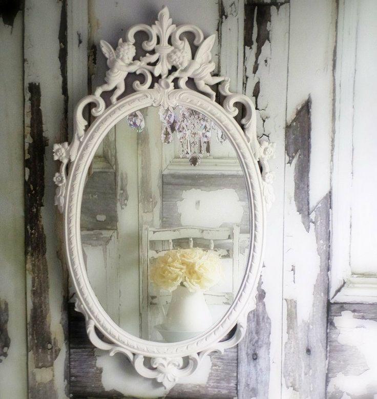 Oltre 25 fantastiche idee su specchio shabby chic su - Specchio ovale shabby chic ...