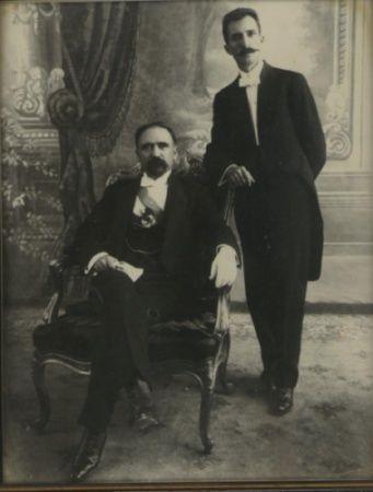 Presidente Madero y Pino Suarez. Asesinados como desenlace los eventos ocurridos en la Decena Trágica. Febrero 1913. Centro Histórico Ciudad de México