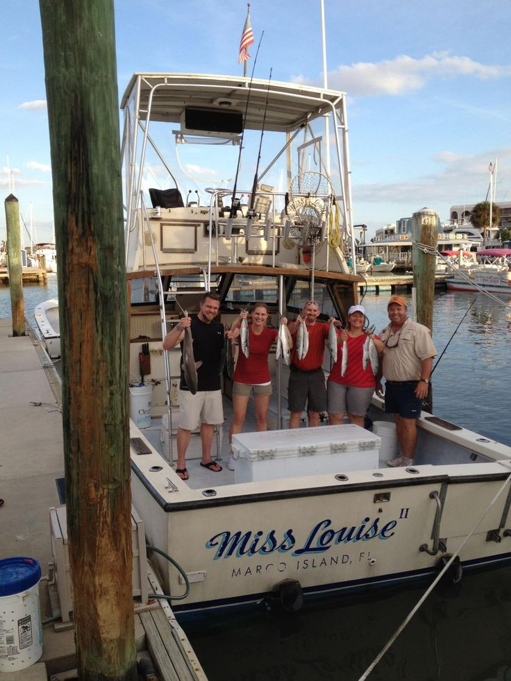 Sunshine tours fishing charters aboard miss for Charter fishing marco island
