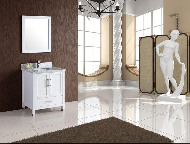 "$779 - Armada 30"" Bathroom Vanity White: Home Decor Store ..."