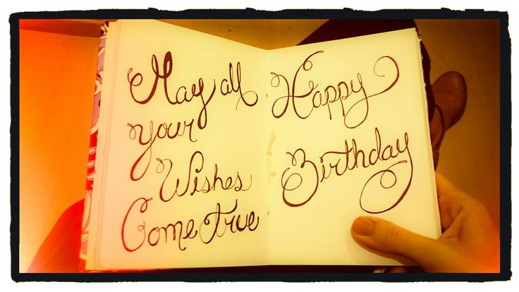 May all your wishes come true, Happy birthday