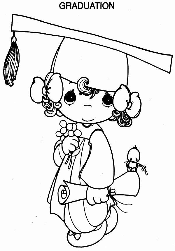 Graduation Cap Coloring Page Unique Free Printable Coloring Pages Part 13 In 2020 Graduation Drawing Kindergarten Coloring Pages Coloring Pages