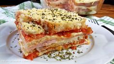 Sanduíche de Forno! Esse lanche ou melhor lanchão, é perfeito para saborear com a família e os amigos. Receitinha prática e muito gostosa. Vem conferir.