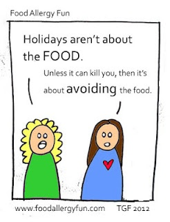 Food Allergies and holidays