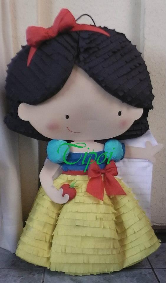 Piñata de blancanieves