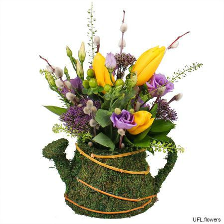 Bouquet «Flower Kettle»