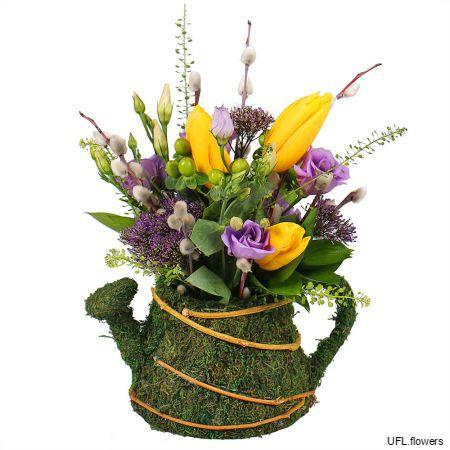 Bouquet «Flower Kettle»