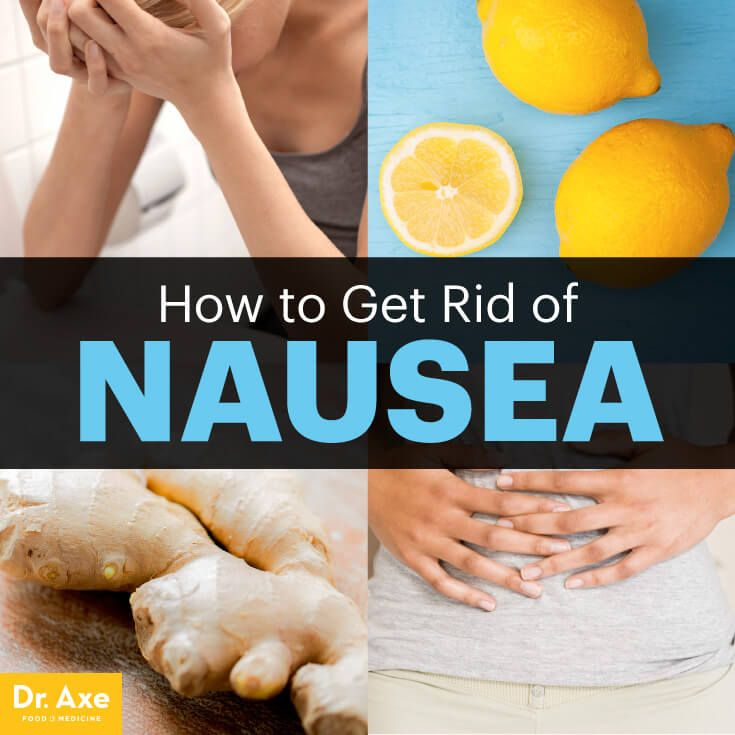How to Get Rid of Nausea the Natural Way - just some ways, but nausea is a symptom. find the root cause.
