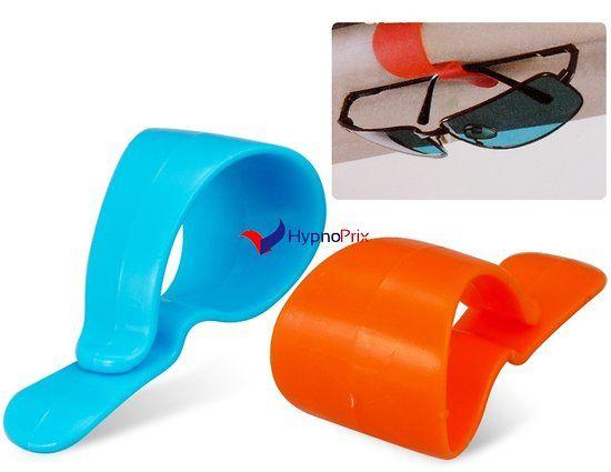 Support Portable multifonctions voiture pour lunettes 2 pièces
