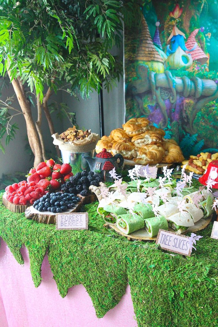 Enchanted Forest Birthday Party – Glitter and Graze