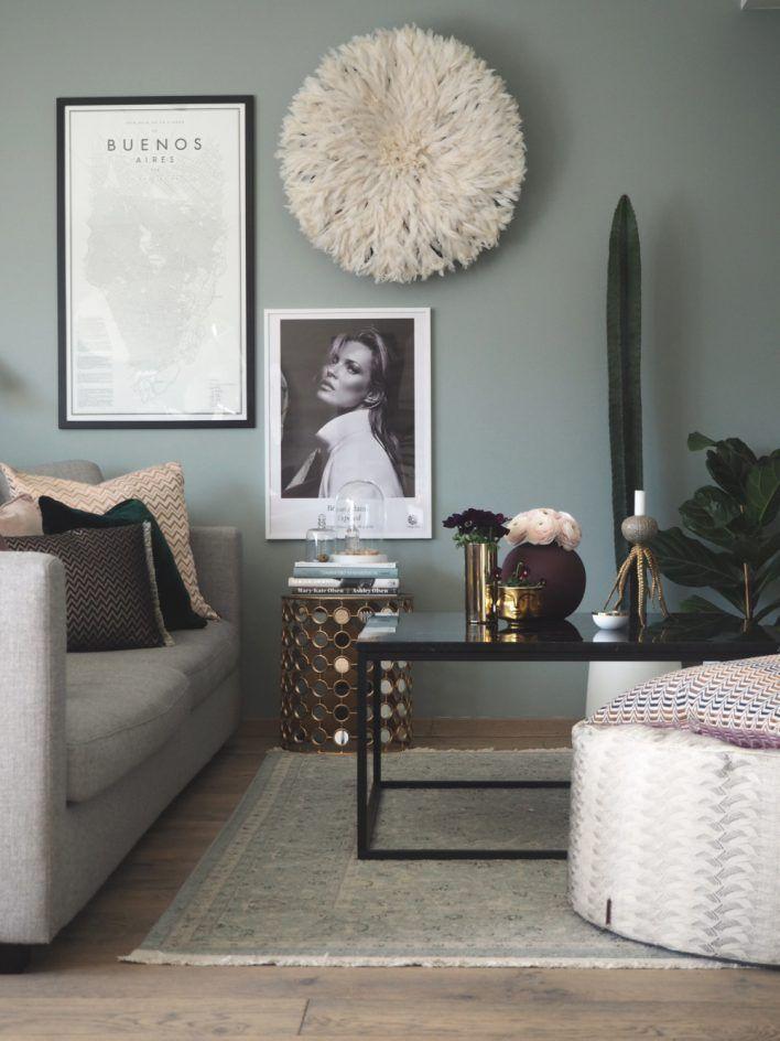 Inspirerande inredning i rosa och grönt – så fixar du stilen