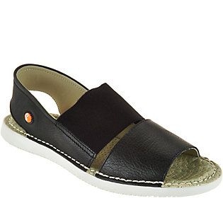Softinos by FLY London Leather Slip-on Sandals - Tai