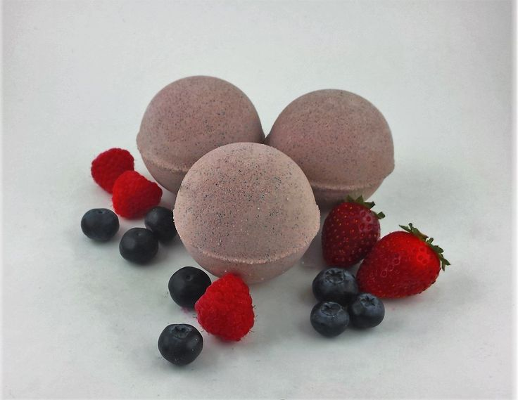 Berrylicious Bath Bombs - 2 Pack by BathAbode on Etsy