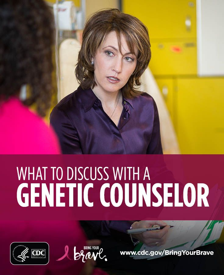 Considering genetic counseling to understand your breast cancer risk? Click for seven things to discuss with your genetic counselor. #BringYourBrave