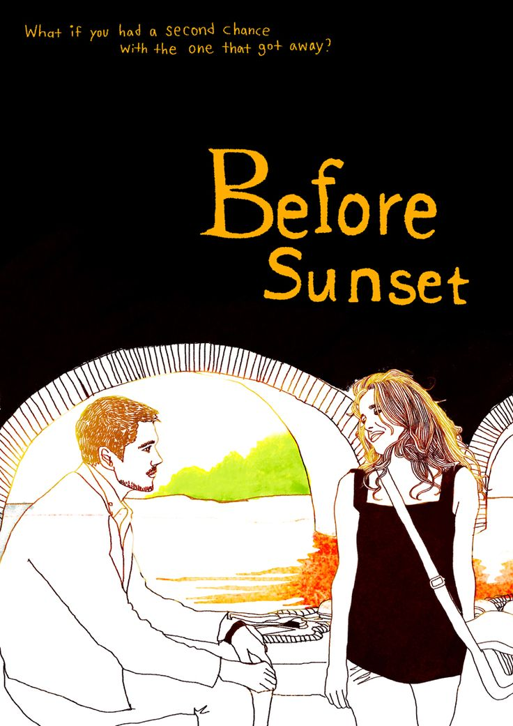 comparing before sunrise with before sunset Before midnight (2013) r | 109 min | drama, romance we meet jesse and celine nine years on in greece almost two before sunset before sunrise boyhood midnight in paris waking life her 500 days of summer eternal sunshine of the spotless mind.
