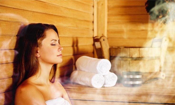 Sauna der praktische Ratgeber | Lizenzfreie bilder