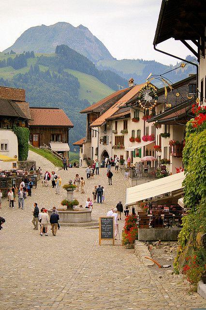 Gruyeres Village, Switzerland