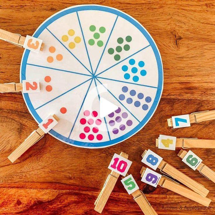 Number 110 Matching Game, Educational Printable Math