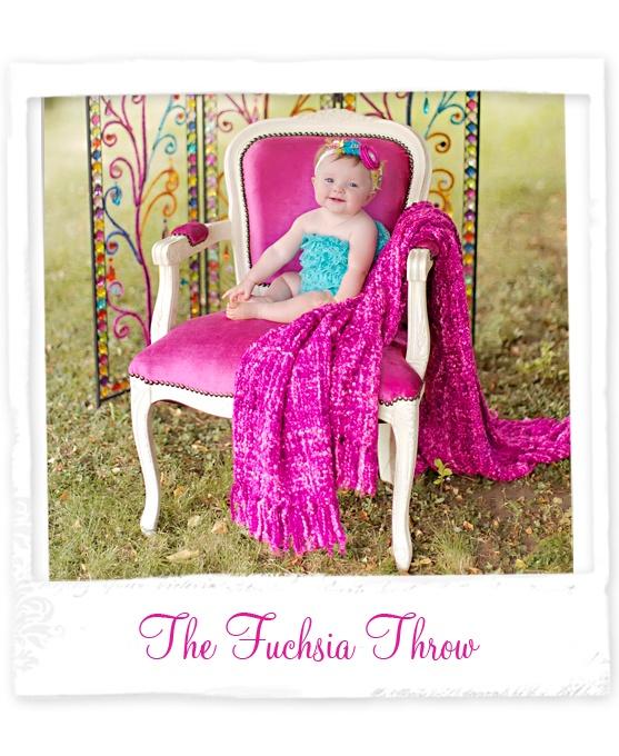 The Fuchsia Throw