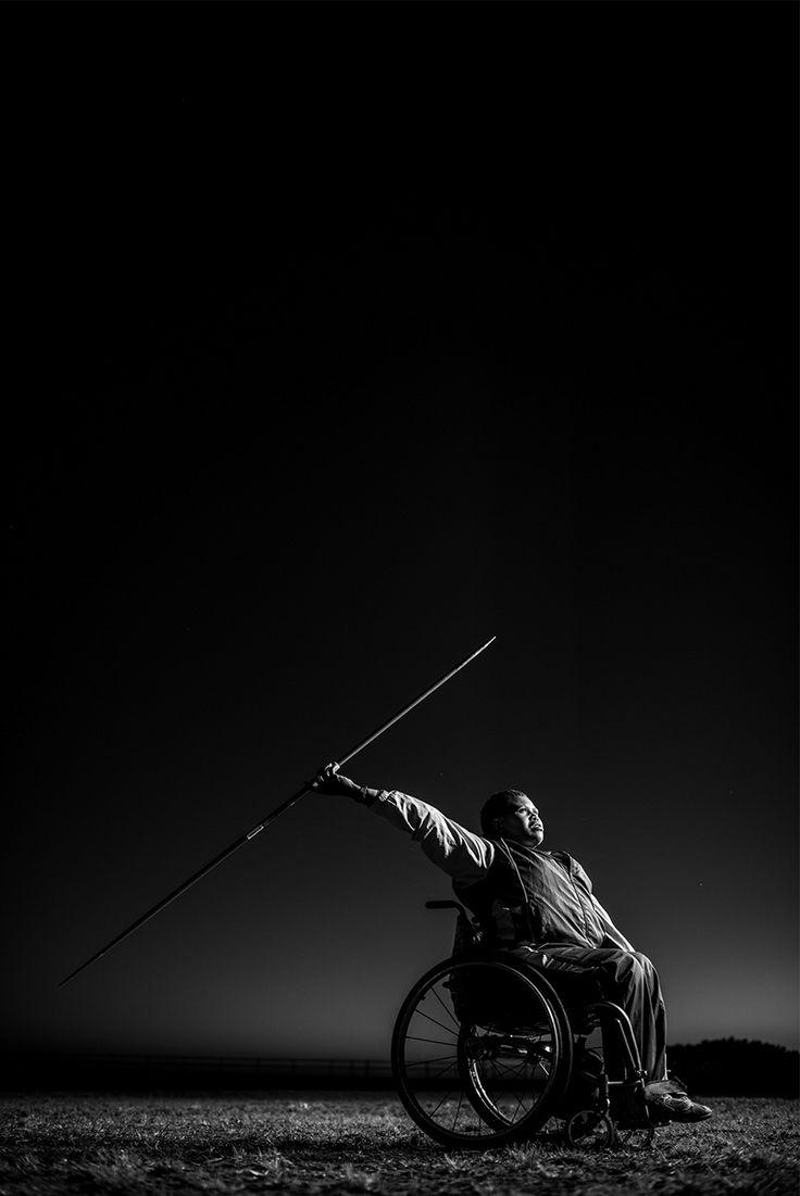 Zanele Situ 'Against All Odds' by Adrian Steirn