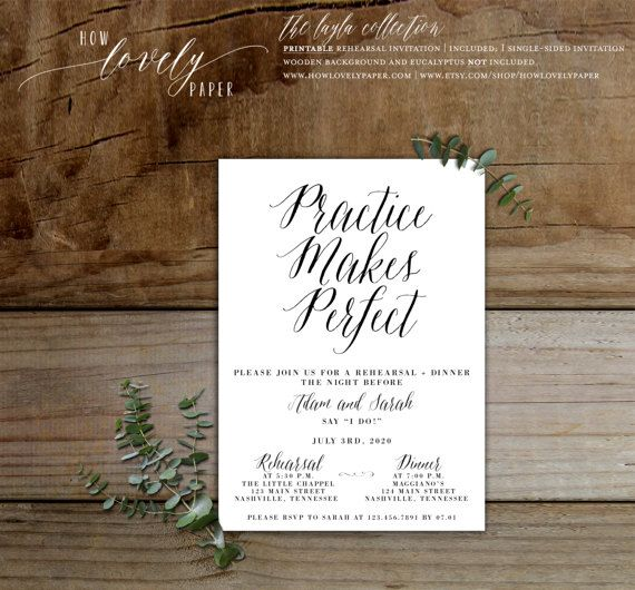 The 25+ best Rehearsal dinner email invitations ideas on Pinterest - printable dinner invitations