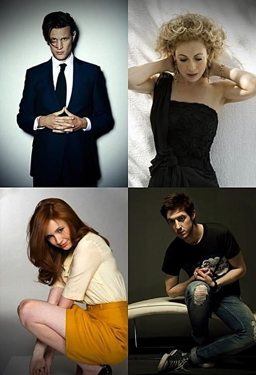 ♥ Love Doctor Who ♥  ~Matt Smith, Alex Kingston, Karen Gillian, Arthur Darvill~