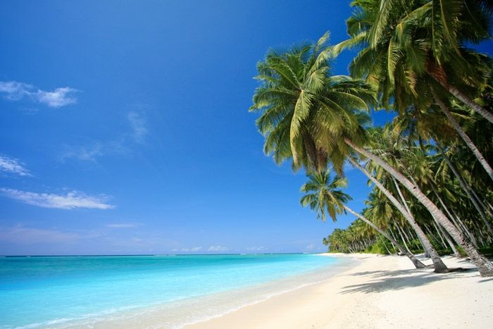 Tuvalu Island in the Pacific