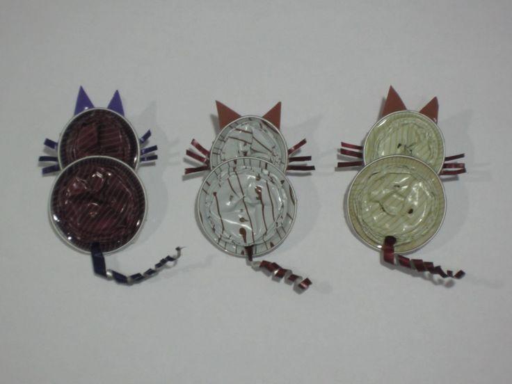 manualidadesisabel: Gatos, mariposas, ranas ..... capsulas nespresso