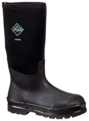 The Original Muck Boot Company Chore Boot Hi All-Conditions 16'' Waterproof Work Boots for Men - 11