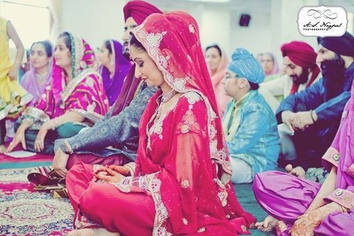 Glen Cove NY Sikh Wedding by A.S. Nagpal Photography via IndianWeddingSite.com