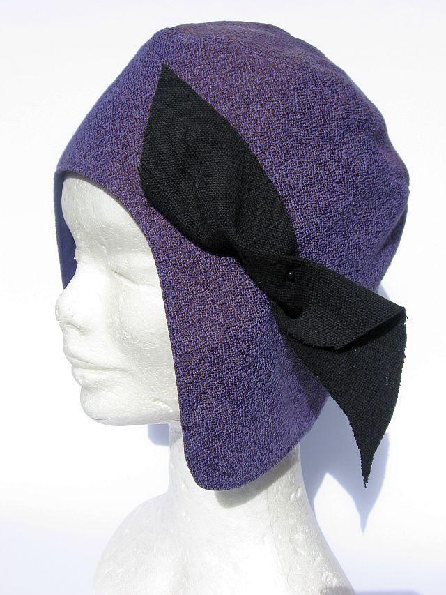 Berretto cappello aviatore viola : Cappelli, berretti di janecolori