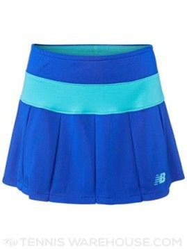 Heather Watson's blue New Balance skirt