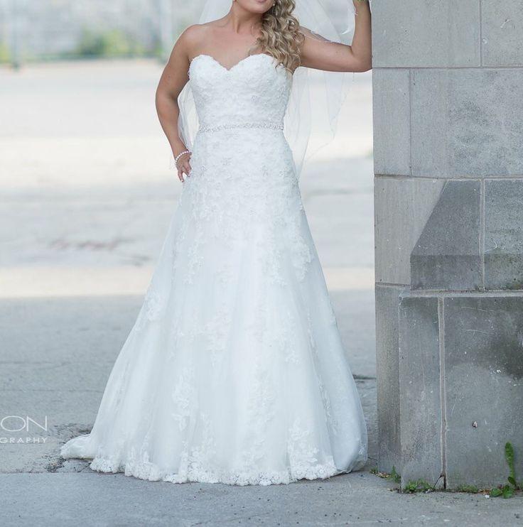 Justin Alexander  Wedding Dress on Sale 70% Off