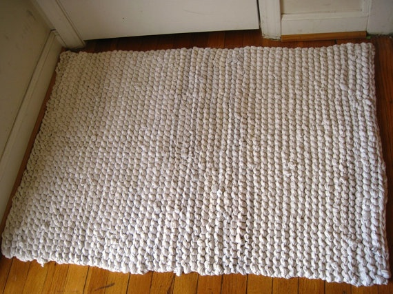 17 Best Images About T Shirt Rugs On Pinterest Crochet