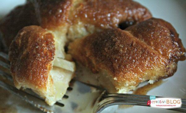 Crescent Roll Apple Dumplings  TodaysCreativeBlog.net