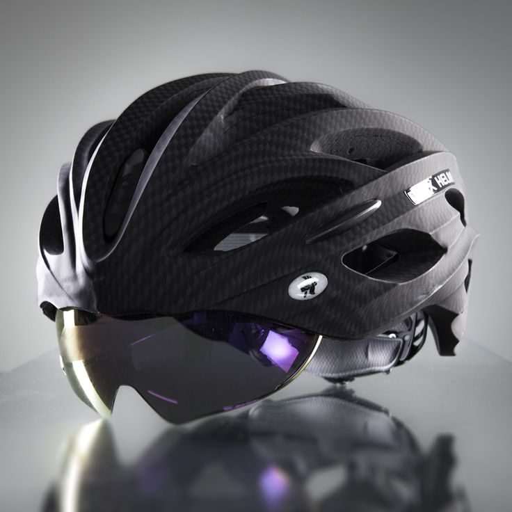 DUX Helm Accessories Purple Reflective Lens