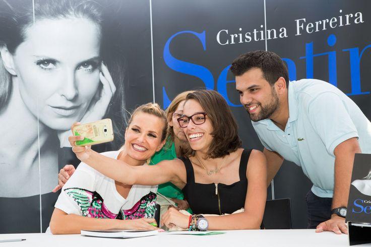 Cristina Ferreira | Daily Cristina | Livro | Sentir | Feira do Livro | Lisboa