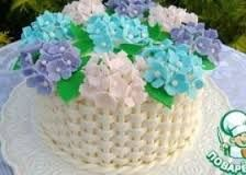 Картинки по запросу торт в виде горшка с цветами