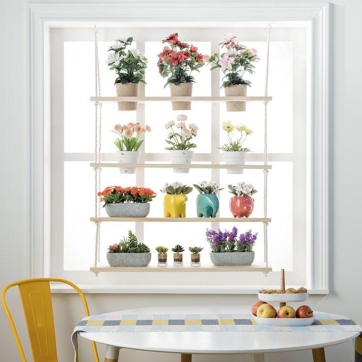 Para la cocina, la sala de estar o la oficina, nuestras plantas y flores decorativas son ideales para darle vida a tu hogar.