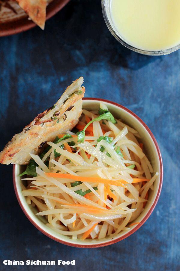 Chinese Potato Salad by China Sichuan Food