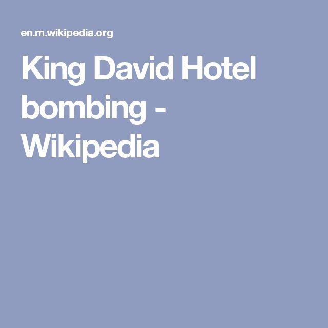 King David Hotel bombing - Wikipedia