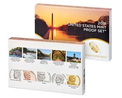 #coins In stock!!! 2018-S US Mint Proof Set-10 proof coins with Box and CoA please retweet