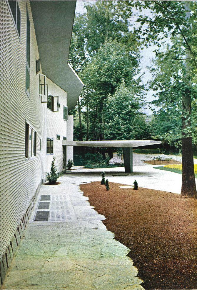 Villa Namazee- Tehran - Gio Ponti, in collaboration with Fausto Melotti and Paolo De Poli (1957-64)