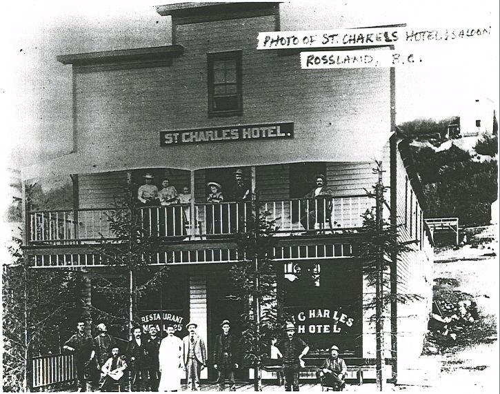 St. Charles Hotel & Saloon - Rossland, British Columbia, Canada